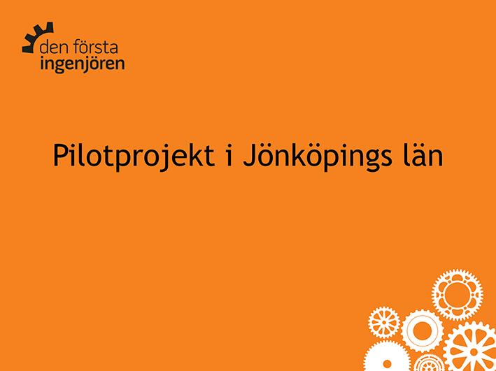 Pilotprojekt i Jönköpings län