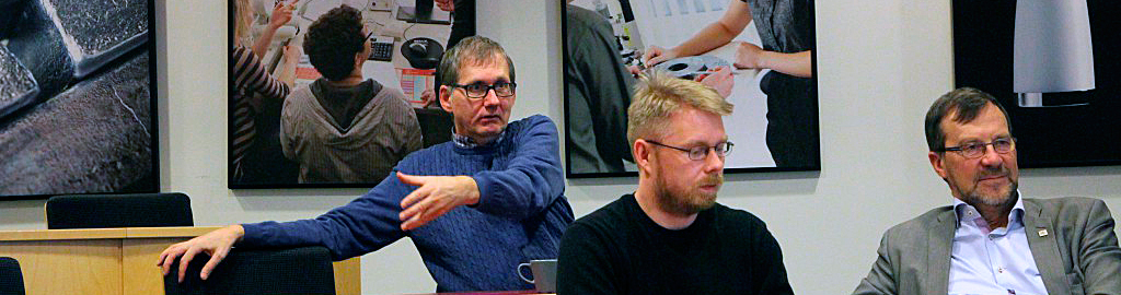 Diskussion om ingenjörens roll i småföretag.